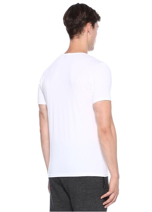 172 Pure Beyaz Basic T-shirt