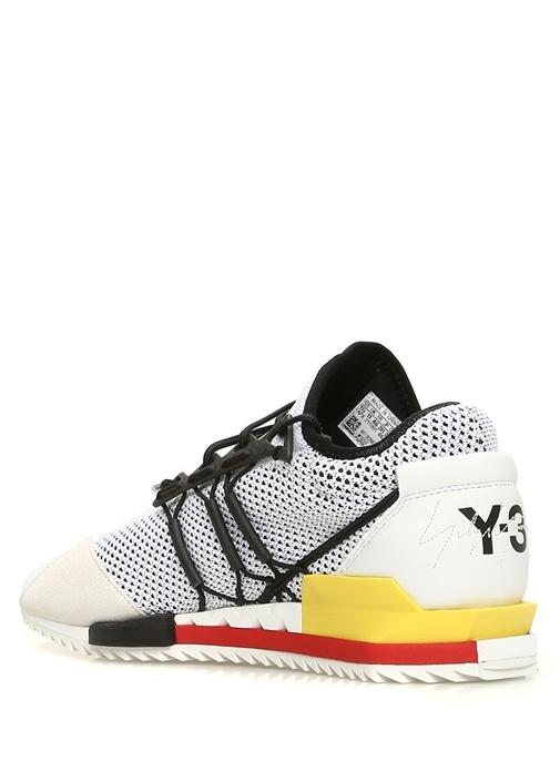 Harigane Beyaz Taba Detaylı Erkek Sneaker