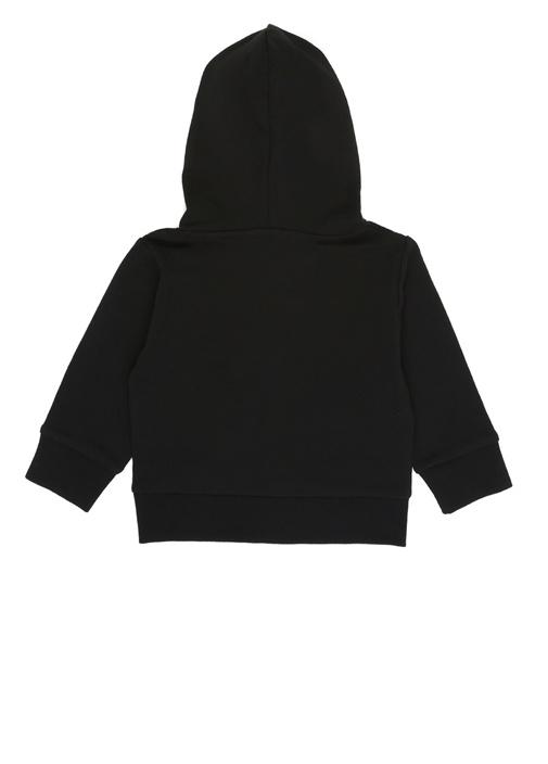 Nolan Siyah Kapüşonlu Erkek Çocuk Sweatshirt