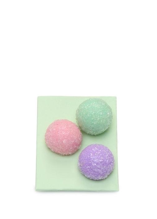 3lü Topik Şeker Formlu Kız Çocuk Broş