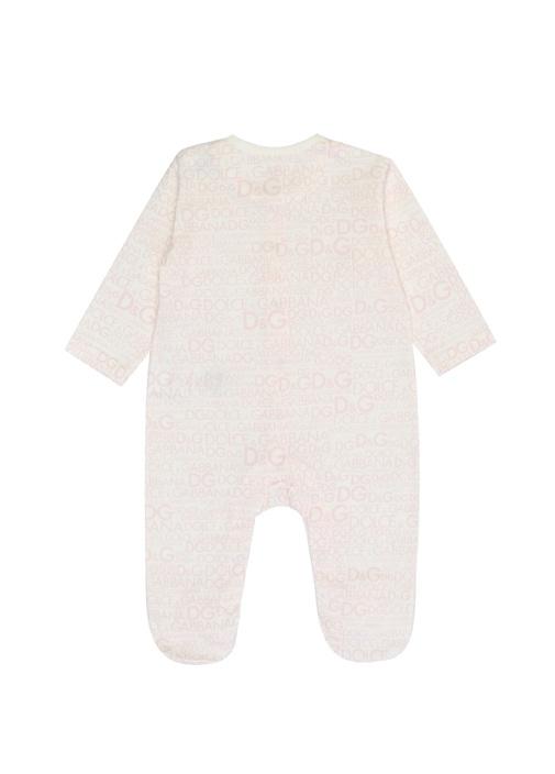 Beyaz Pembe Mikro Logolu Kız Bebek Hediye Seti
