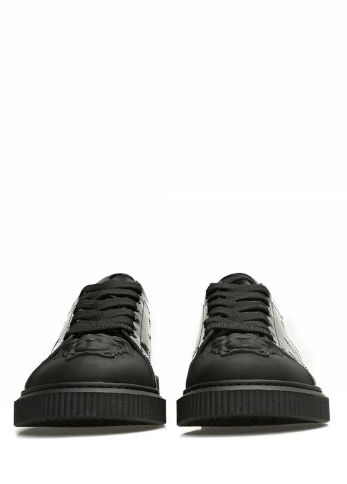 Medusa Siyah Erkek Deri Sneaker