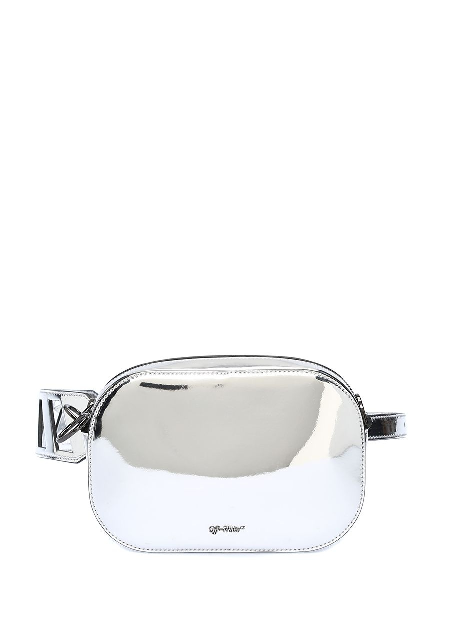 Off White Camera Ayna Efektli Kadın Çanta