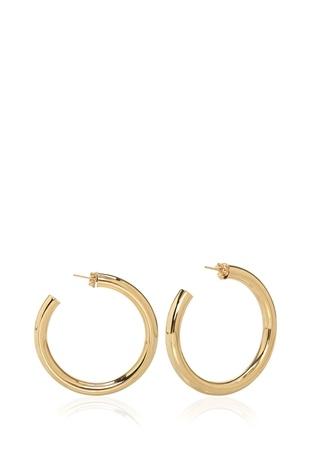 Daniel Espinosa Kadın Gold Halka Küpe Altın Rengi