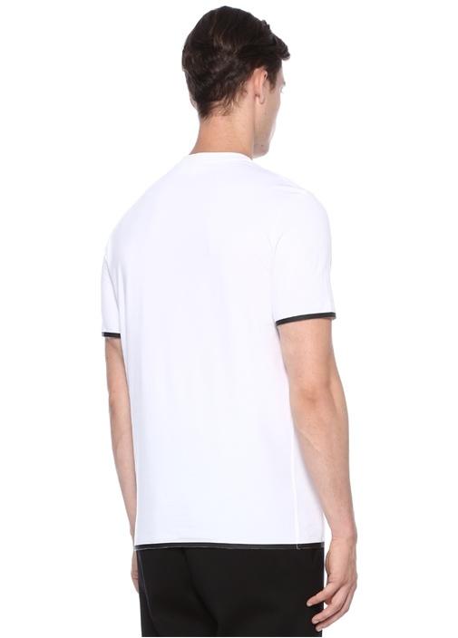 Regular Slim Fit Beyaz Basic T-shirt