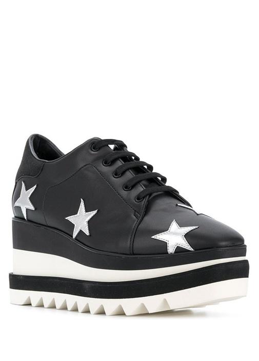Elyse Yıldız Patchli Kalın Tabanlı Kadın Sneaker