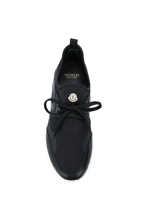 Oricle Siyah Şerit Detaylı Erkek Deri Sneaker