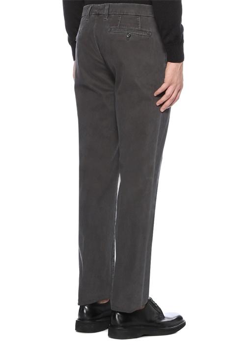 Drop 6 Gri Kanvas Pantolon