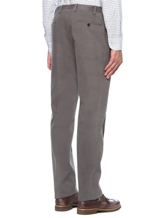 Drop 7 Gri Normal Bel Dar Paça Pantolon