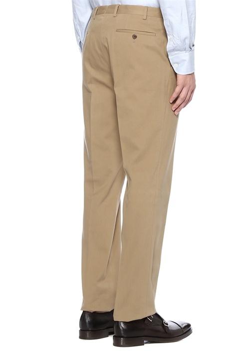 Drop 7 Bej Normal Bel Boru Paça Pantolon