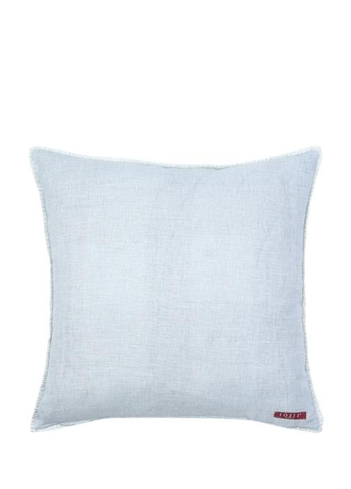 Nefer Perle 45x45 cm Keten Dekoratif Yastık