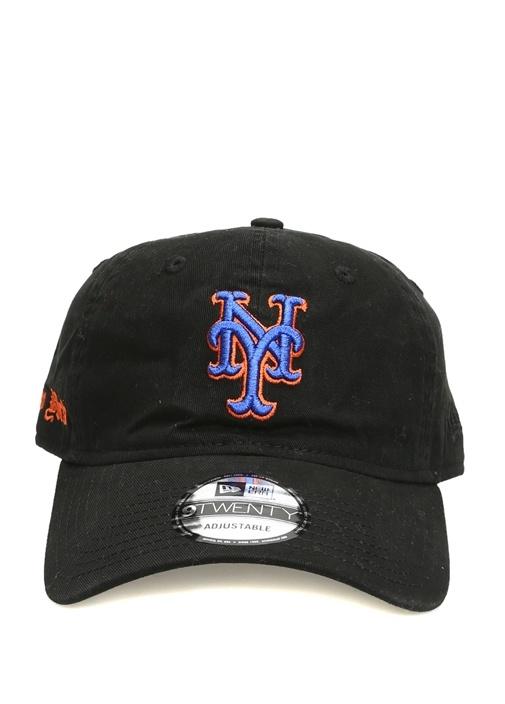 Siyah Nakışlı Erkek Şapka