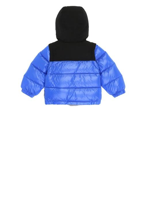 Roubaix Mavi Kapüşonlu Erkek Bebek PuffMont