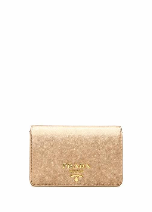 Rose Gold Logolu Kadın Deri Çanta