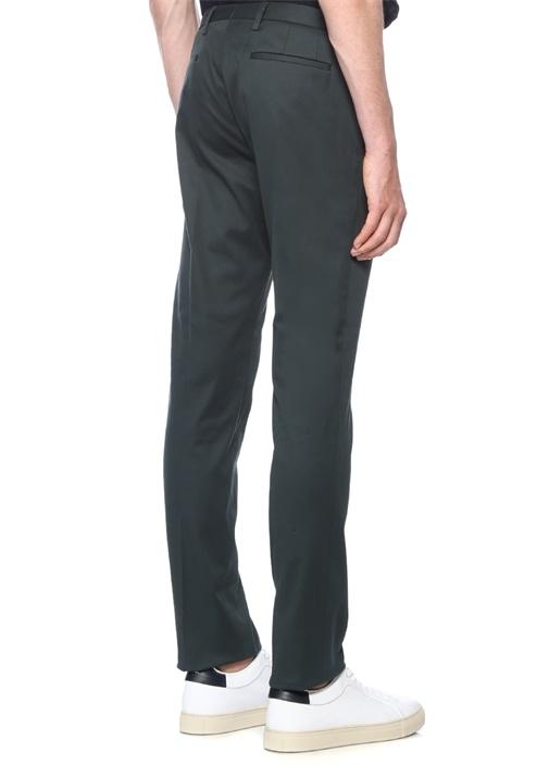 Yeşil Formal Fit Normal Bel Pantolon