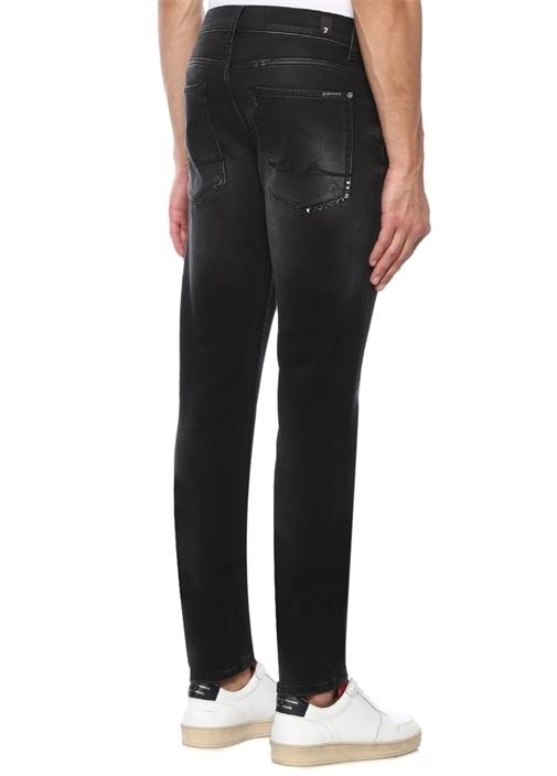 Larry Slim Tapered Siyah Jean Pantolon