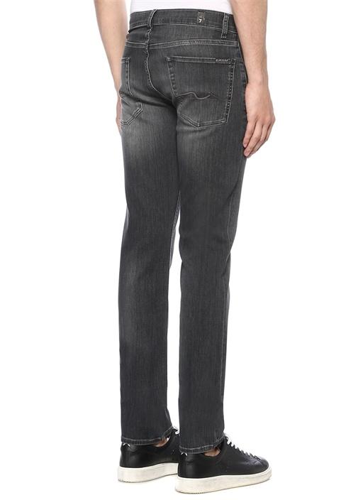 Slimmy Fit Gri Normal Bel Boru Paça Jean Pantolon