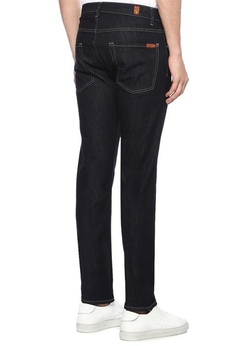 Modern Straight Fit Lacivert Jean Pantolon