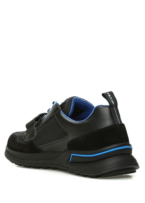 Mavi Siyah Erkek Sneaker