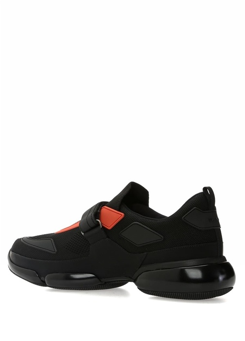 Cloudbust Siyah File Dokulu Erkek Sneaker