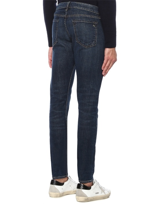 Glastonbury Extra Slim Fit Lacivert Jean Pantolon