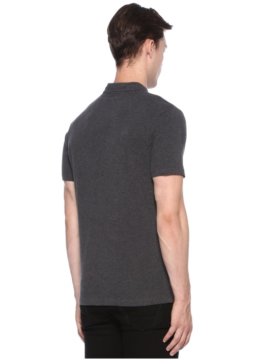 Brace Antrasit Logolu Basic T-shirt