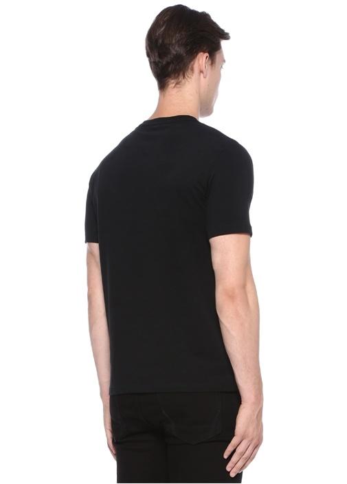 Brace Tonic Siyah Logolu Basic T-shirt