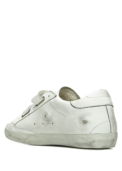 Superstar Beyaz Yıldız Patchli Kadın Deri Sneaker