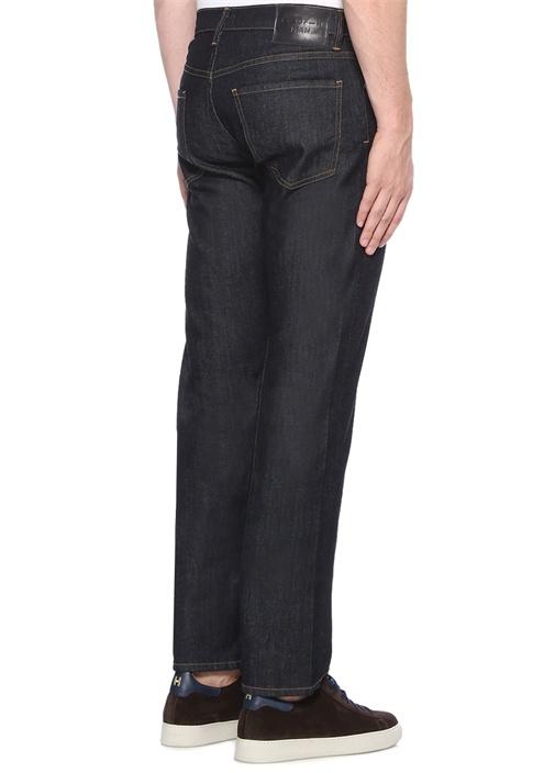 Lacivert Normal Bel Jean Pantolon