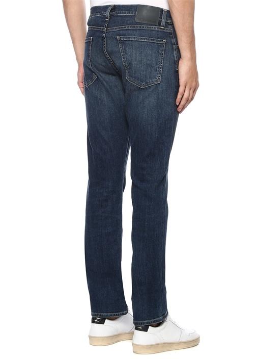 Gage Lacivert Normal Bel Jean Pantolon