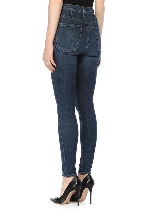 Chrissy Yüksek Bel Skinny Jean Pantolon
