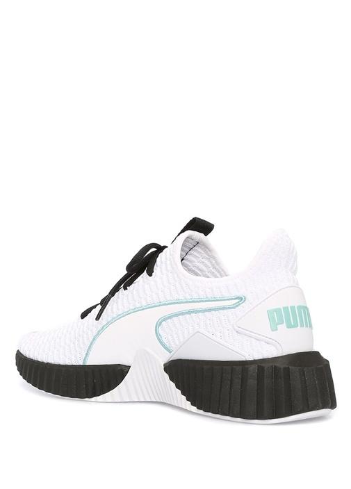 Defny Beyaz Örgü Dokulu Kadın Sneaker