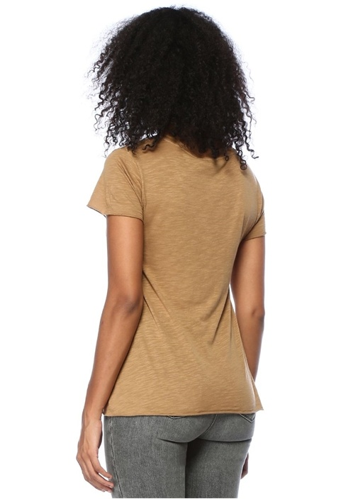 Jacksonville Taba Melanj V Yaka Basic T-shirt