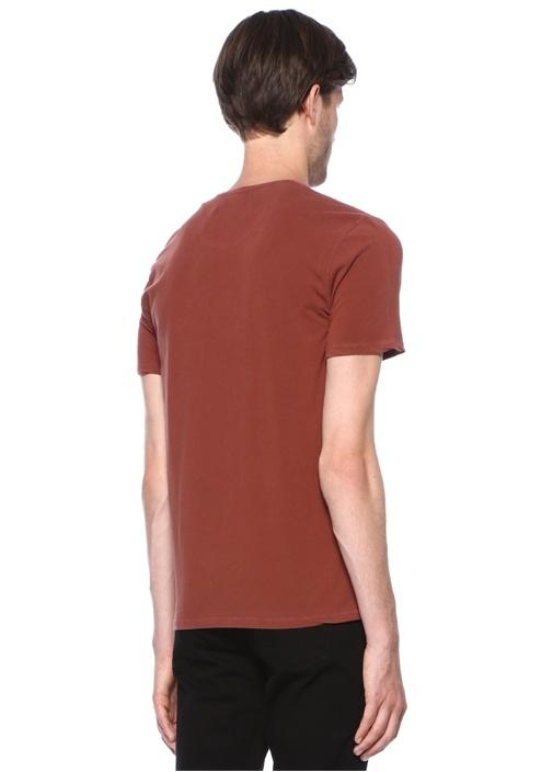 Auburn Kiremit Basic T-shirt
