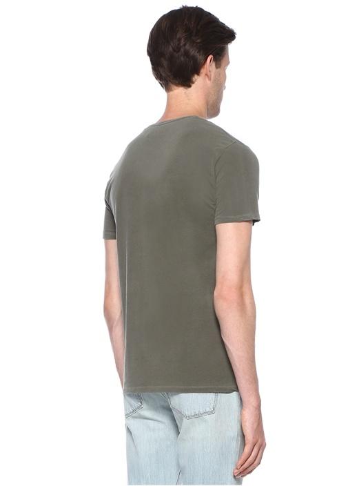 Odamint Haki Basic T-shirt