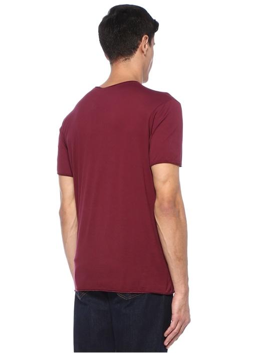 Tinibay Bordo Basic T-shirt