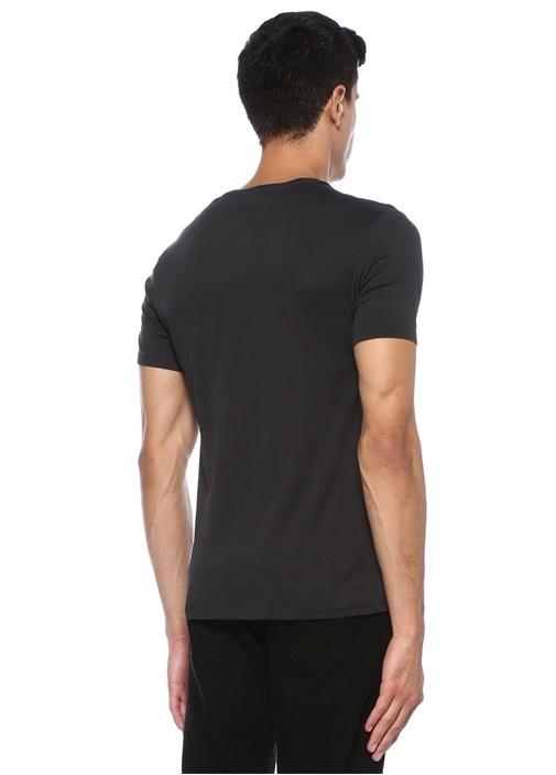 Denver Antrasit Basic T-shirt