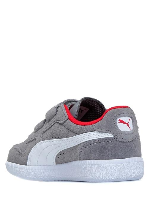 Icra Trainer Gri Unisex Bebek Süet Sneaker