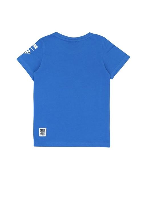 Justice League Mavi Supermanli Erkek Çocuk T-shirt