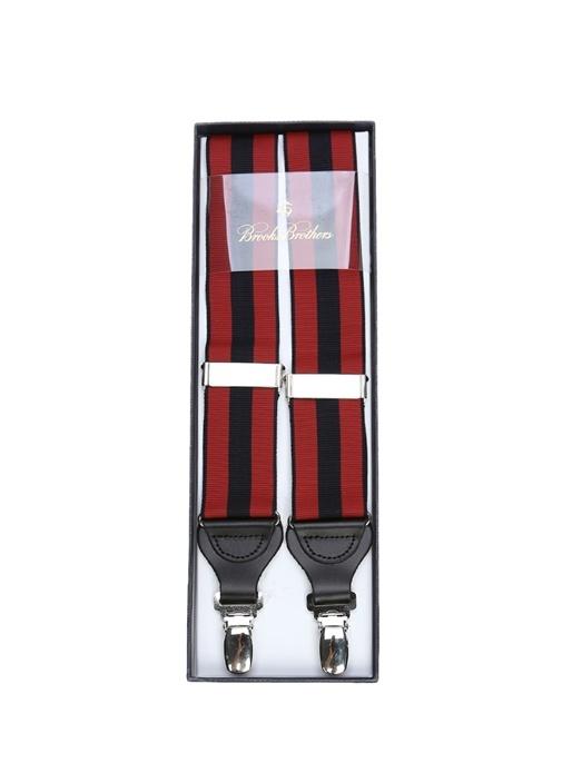 Kırmızı Lacivert Şeritli Erkek PantolonAskısı