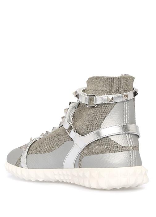 Silver Rockstud Kadın Sneaker