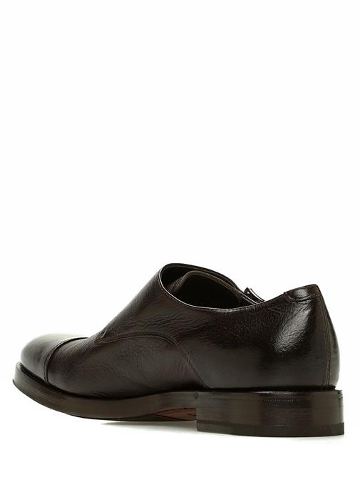 Kahverengi Kemerli Erkek Deri Ayakkabı