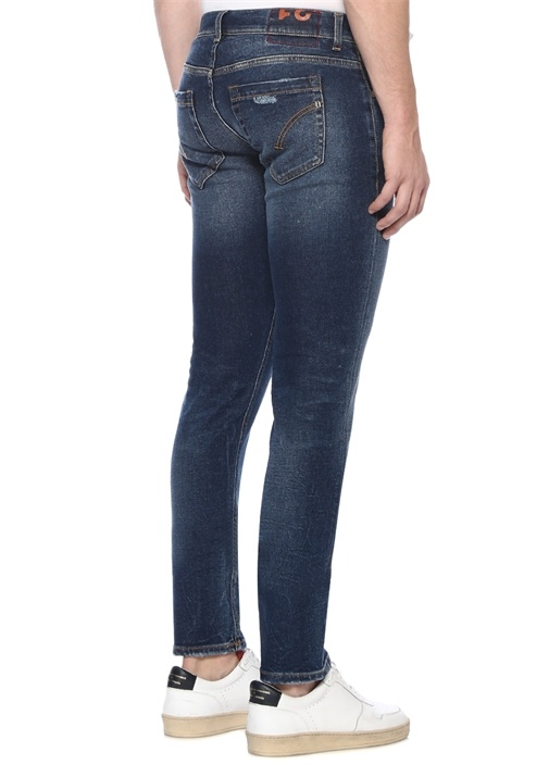 George Skinny Fit Lacivert Jean Pantolon