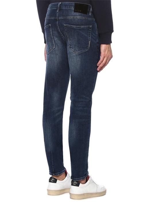 Lou Slim Fit Lacivert Jean Pantolon