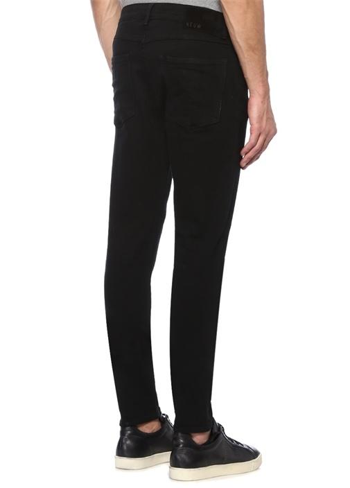 Ray Tapered Fit Siyah Jean Pantolon