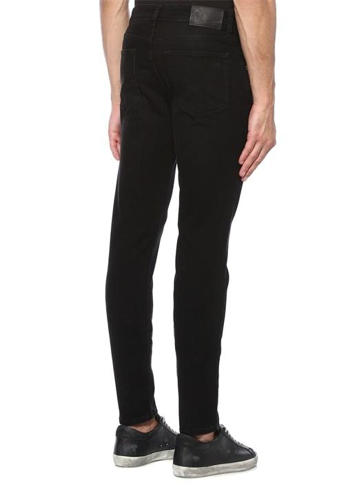 Damien Faded Siyah Normal Bel Jean Pantolon