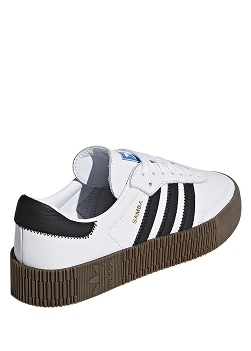 Sambarose Beyaz Siyah Kadın Sneaker