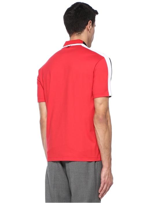 Lacivert Beyaz Polo Yaka T-shirt