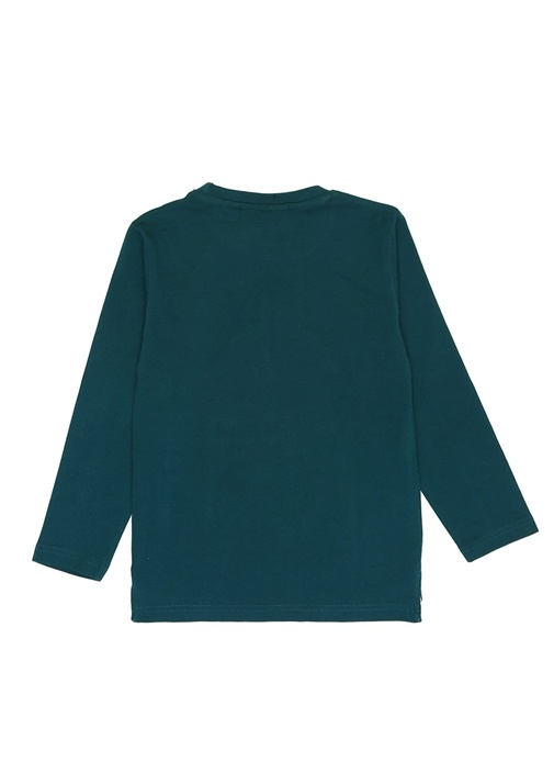 Batman Crime Yeşil Uzun Kollu Erkek Çocuk T-shirt