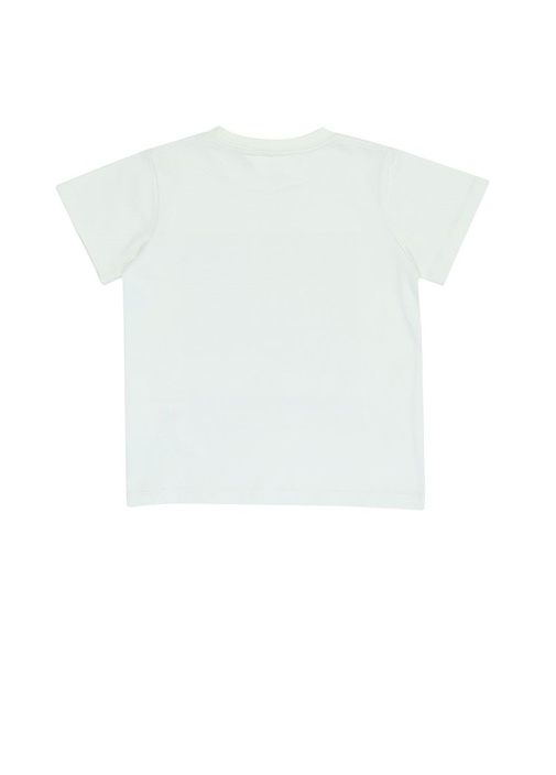 Road Ekru Baskılı Erkek Çocuk T-shirt